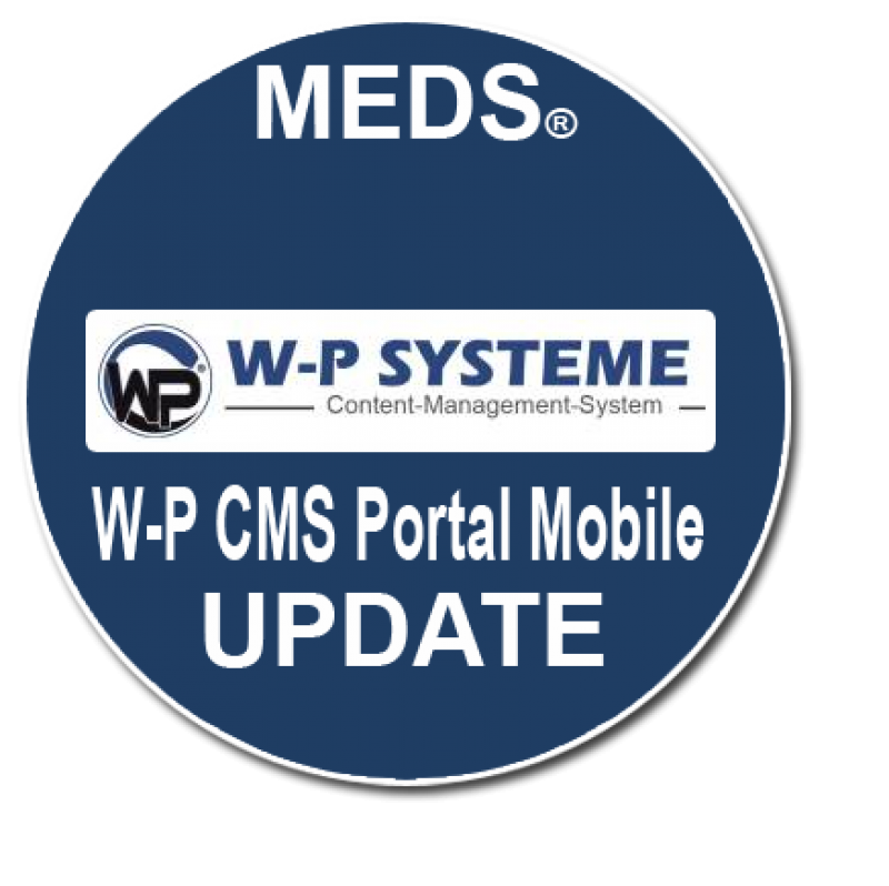 W-P CMS Portal Mobile - Update 1.01 vom 08.01.2019